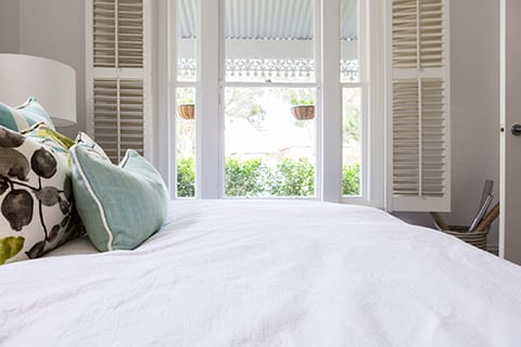 Shutters as window coverings