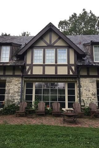 Custom wood windows on a historic home in Pennsylvania