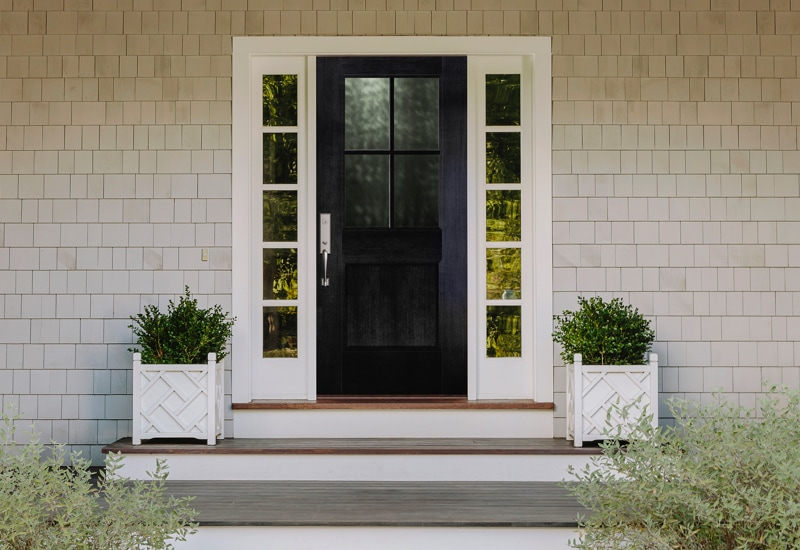 Black Front Door Ideas To Up Your Curb Appeal Pella Windows Doors