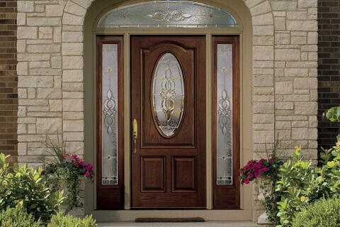 Front doors with glass entry door types  options to make your unique