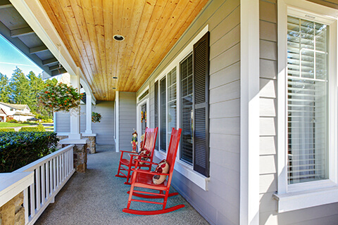 Front Porch Tips - Get creative with awnings