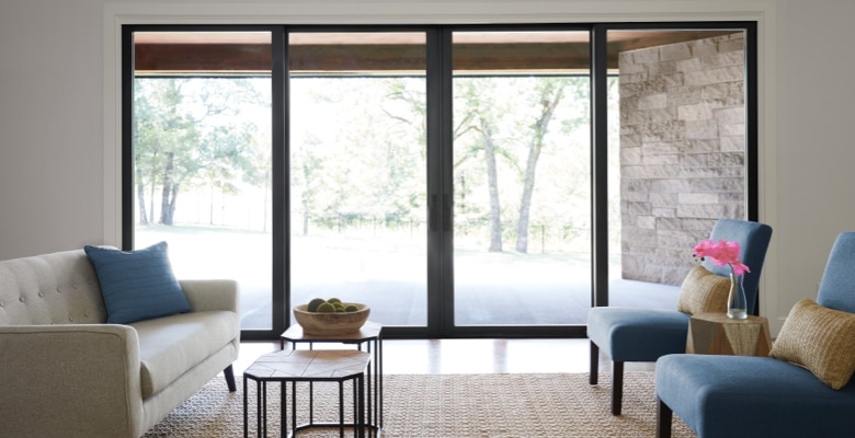 How to Use Sliding Glass Doors as Interior Room Dividers