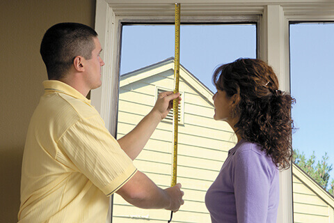 Measuring windows to provide an accurate estimate