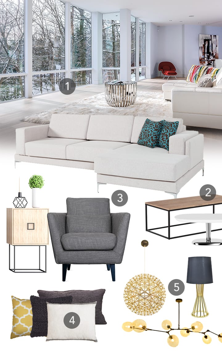 Style Mood Board - Contemporary Design