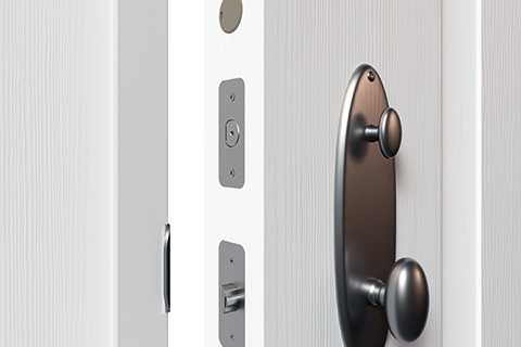 Multipoint door lock with SmartKey technology