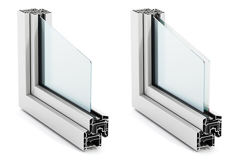 Double Paned Gl Single Pane Windows Are Made With