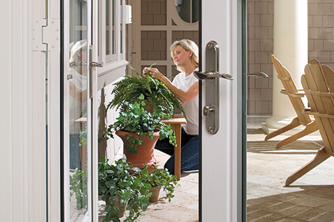 Design of sliding and french doors