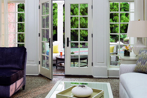 Convenience of French Doors