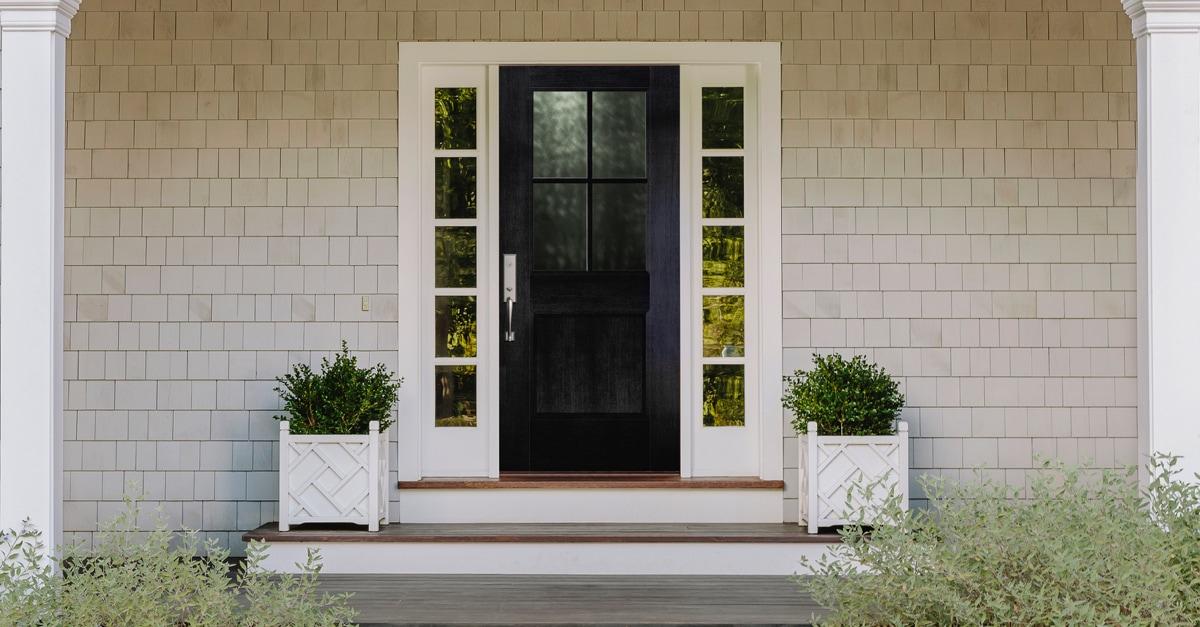 Black Front Door Ideas To Up Your Curb Appeal Pella Windows Doors