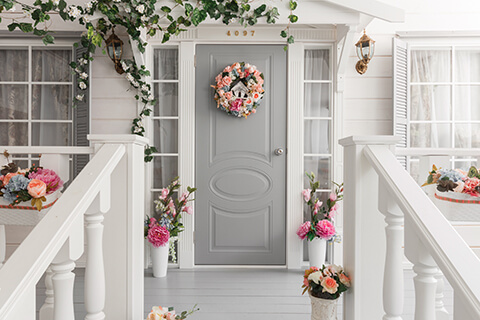 Front Porch Tips - Spruce up front door