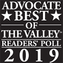 Best of The Valley Readers' Poll logo