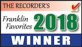 The Recorder's Franklin Favorites 2018 logo