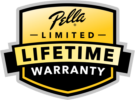 Pella Limited Lifetime Warranty logo
