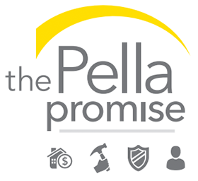 The Pella Promise logo