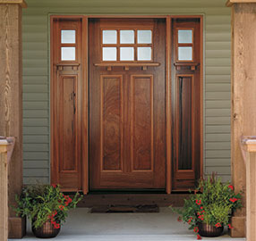 Pella Wood Entry Door - Craftsman