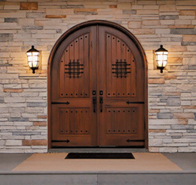 Pella Wood Entry Door - Old World European