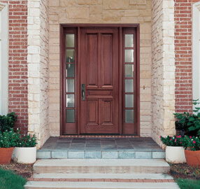 Pella Wood Entry Door - Traditional