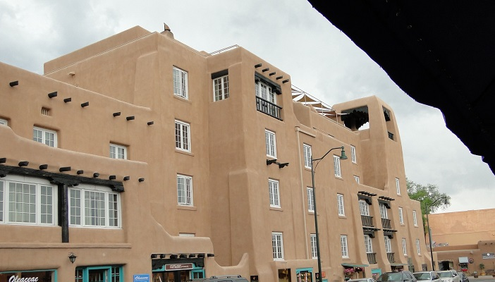 Santa Fe Hotel Window Replacements Keeps Historic Look