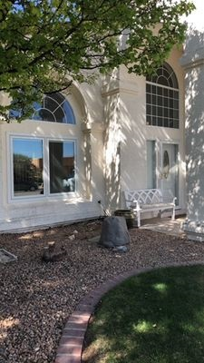 wood window and fiberglass entry door replacement project