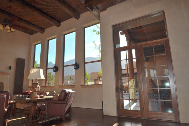 Wood Hinged French Patio Door Replacement Pella Albuquerque Nm