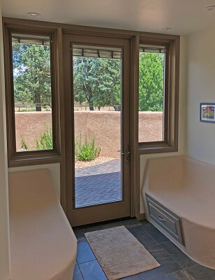 Corrales Home Remodel and Addition To Bring In Natural Light
