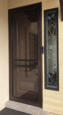 Wood Entry Door Replacement Outside