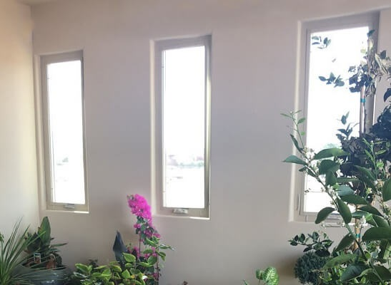 casement window in albuquerque home