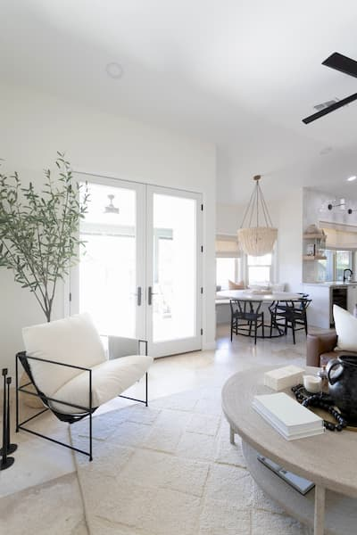 French Patio Doors Update Arizona Showroom Home