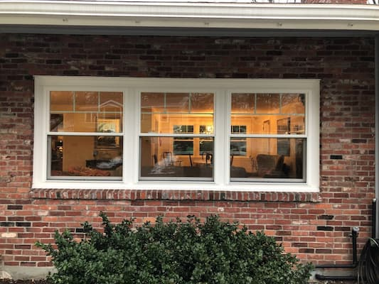 Three Windows to Replace One Picture Window