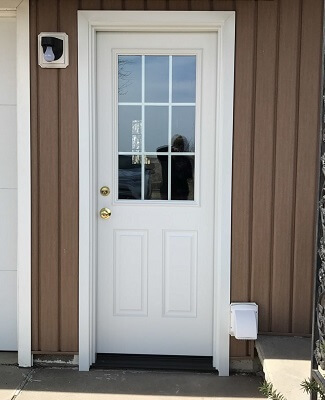 Contemporary Entry Door Replacement For Rental Property After