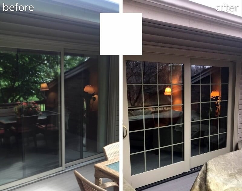 Master Bedroom Sliding Patio Door Upgrade
