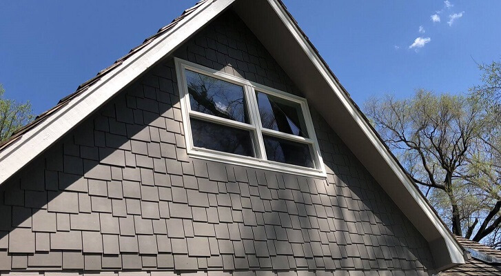 Whole Home Custom Window Replacement Attic Window