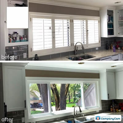 Whole Home Custom Window Replacement Kitchen Inside