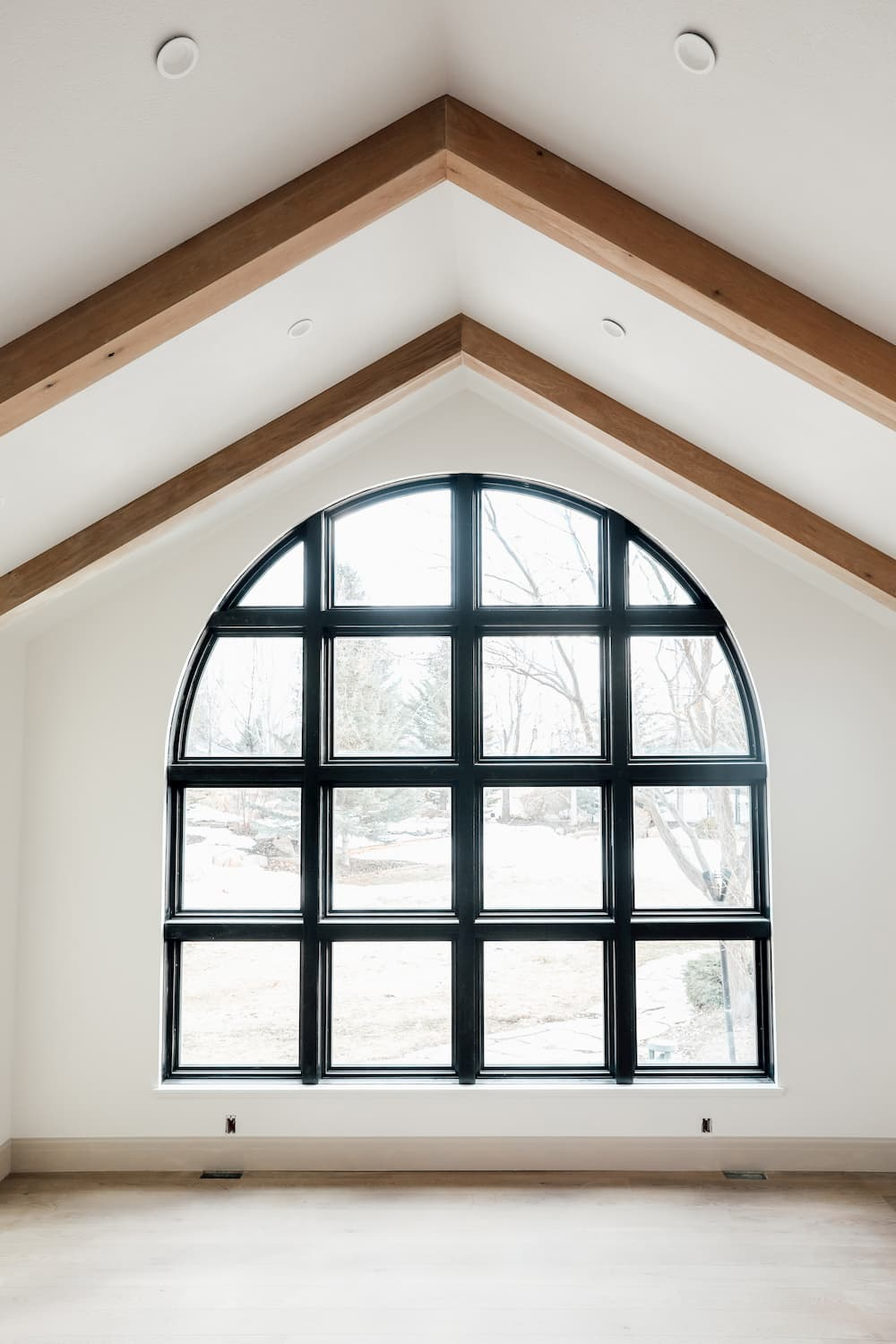 remodeled glass archway of architect series windows