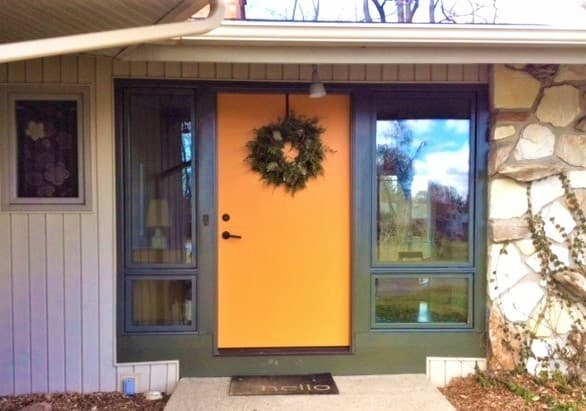 New Entry Door & Windows Modernize Lansing Entry