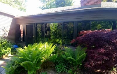 Fiberglass Sliding Windows Enhance Grand Rapids Sun Porch