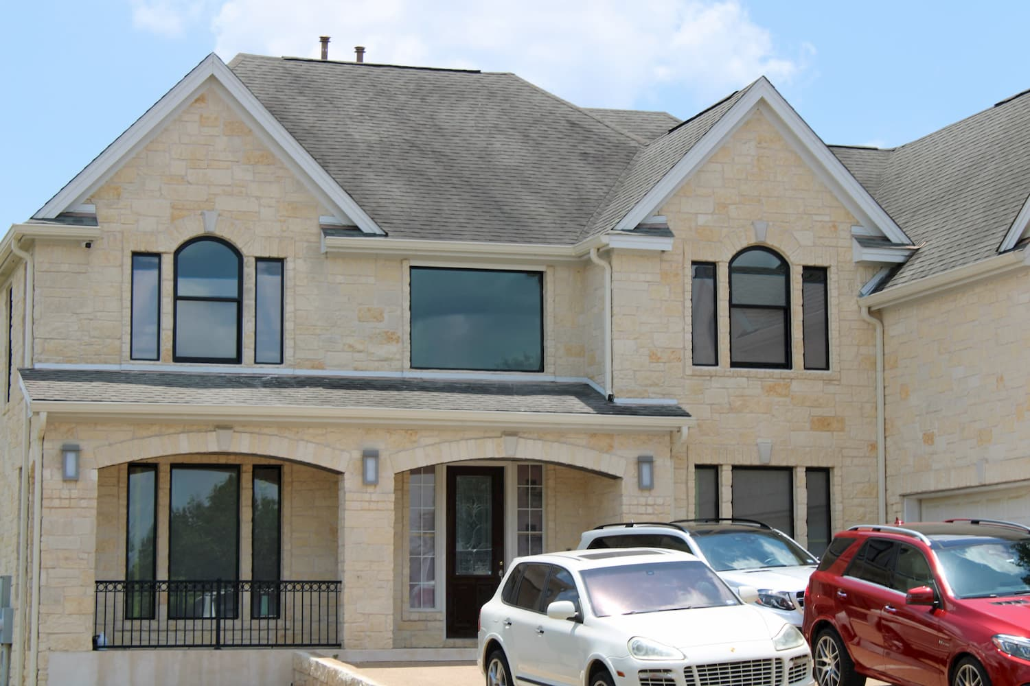 Austin home with replacement Pella windows and doors