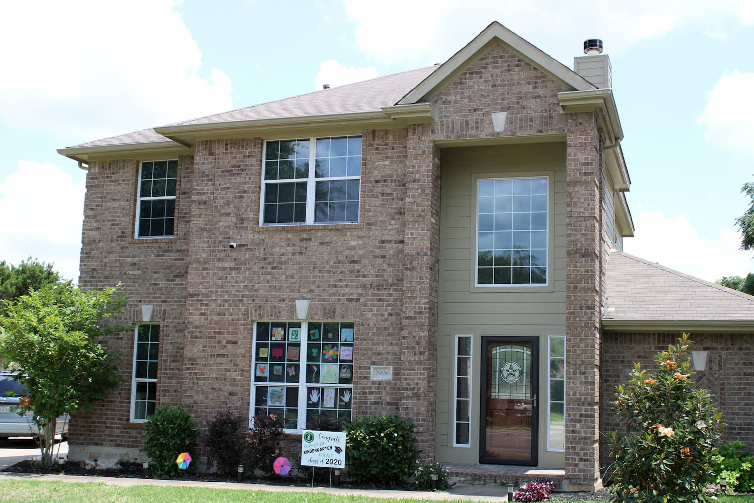 North Austin home with Pella replacement windows