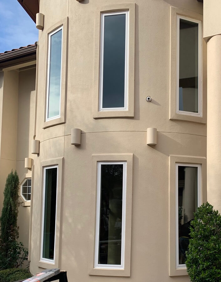 Energy Efficient Windows for Stucco Home in Austin