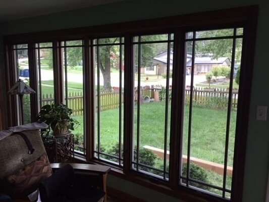 after image of chicago home with new windows