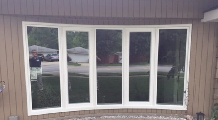 Reverse Bow Window