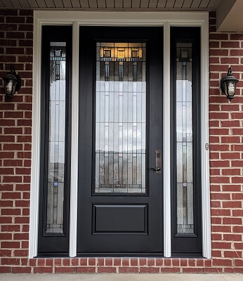 Hebron Home Gets New Fiberglass Entry Door