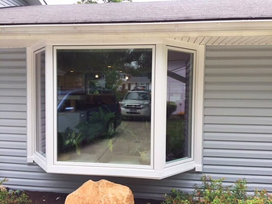 cleveland new vinyl and sliding bay windows outside view