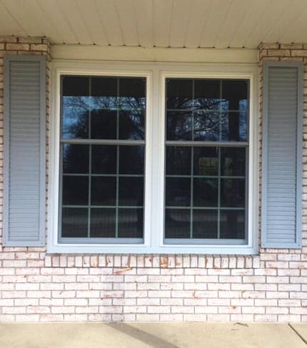 akron home - new double-hung windows