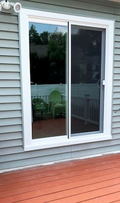 New Sliding Glass Door Improves Patio Access Pella