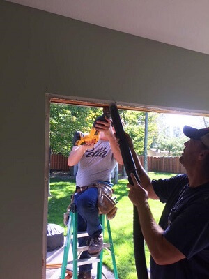 install image in cleveland home with new wood casement windows