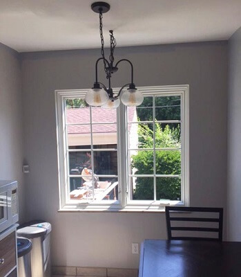 cleveland home gets new wood casement windows in dining room