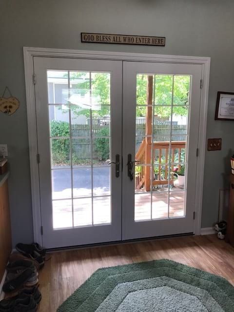 french-patio-door-interior