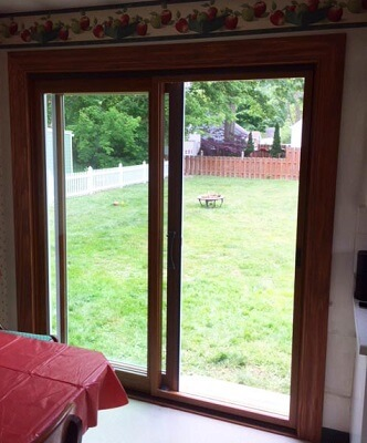 From Window to Wood Sliding Patio Door After