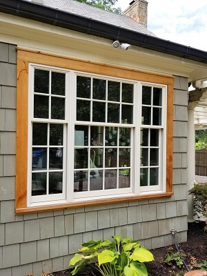 new wood double hung windows for cleveland home